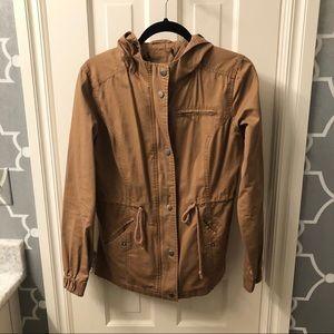 EUC Forever 21 Khaki Utility Jacket